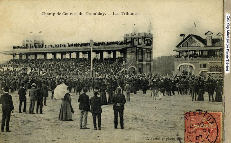 Ancien champ de courses du Tremblay, à Champigny-sur-Marne, vers 1960