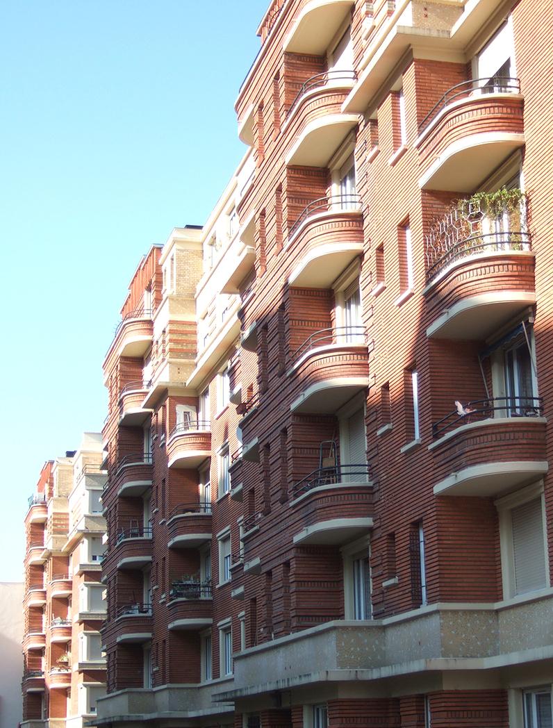 Ensemble de logements à caractère patrimonial / Ivry-sur-Seine