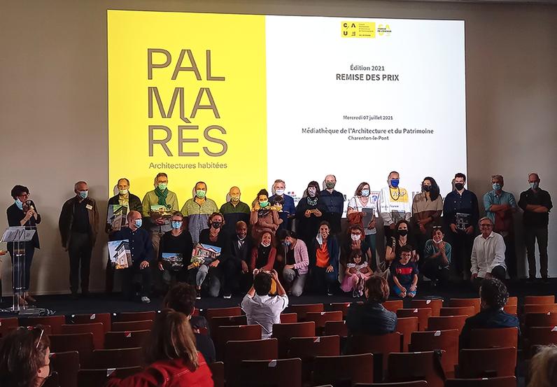 Lauréats de la première édition du Palmarès Architectures habitées