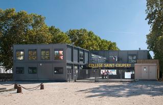 Collège provisoire Saint-Exupéry à Vincennes