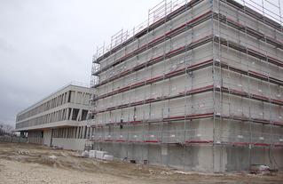 Collège Audin à Vitry sur Seine - Visite de chantier mars 2020