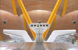 Aéroport de Madrid, architecte Richard Rogers