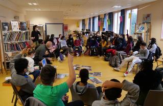 Atelier mené en décembre 2020 avec des collégiens de Vitry-sur-Seine