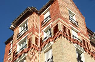 Ensemble de logements des années 30 à Ivry-sur-Seine