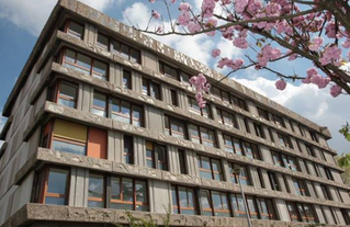 Quartier des Bleuets, Créteil. Architecte Paul Bossard