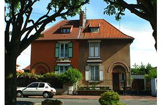 Cité-jardin du Noyer Habru, à Créteil